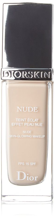 Christian Dior Nude Skin-Glowing Makeup SPF 15,  010 Ivory, 1 Ounce *** You can find more details by visiting the image link. #beauty