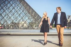 A Sunny Sunday morning at the Louvre Museum with Noémie & Simon - WESHOOT Paris Photo Session