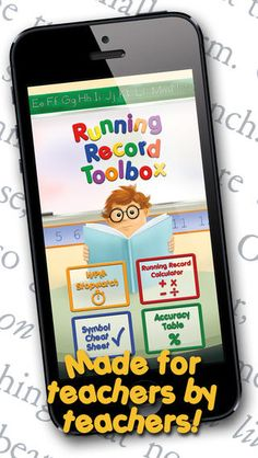 Running Record Toolbox App .99 cents