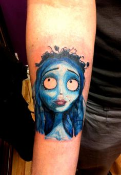 Corpse Bride, done at Loki Ink, Plymouth, UK