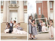 This #wedding is so sweet, w/ the bride's 3 daughters as adorable flower girls. Lots of #DIY inspiration! http://su.pr/2RtMgp