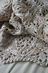 Ravelry: ZarahMaria's Winter Flowers, Summer Blossoms | Used Merino Worsted by Malabrigo, Aran 10 ply, 100% Merino. (Echo Flower Shawl originally called for lace or fingering weight)