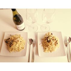 Homemade pasta (alio olio)