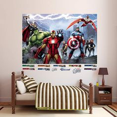 Fathead Avengers Assemble Wall Mural - Wall Sticker Outlet