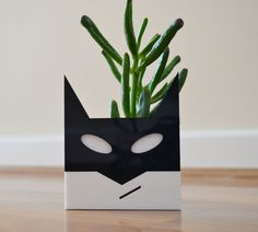 Superhero planter for house plants succulents and cactus £12.50