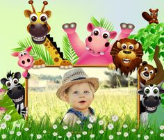 Cool templates for kids by PhotoMontager