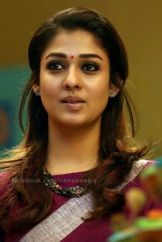 Nayantara Most Beautiful Indian Actress, Beautiful Actresses, Most Beautiful Women, Beauty Full Girl, Beauty Women, Nayanthara Hairstyle, South Indian Wedding Hairstyles, Celebrity Makeup Looks, Indian Beauty Saree