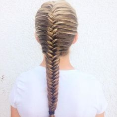 Chic fishtail