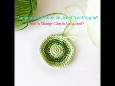 Amigurumide Renk Geçişleri Nasıl Yapılır- How to Change Color in Amigurumi | Tiny Mini Design