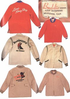 Mens Collections: Menswear Car coats and Bowling Shirts Shirt Print Design, Shirt Designs, Vintage Bowling Shirts, Vintage Mens T Shirts, Bowling Outfit, Vintage Outfits, Vintage Fashion, Vintage Sportswear, Men's Collection