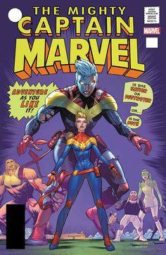Captain Marvel #125 Mora Lenticular Variant