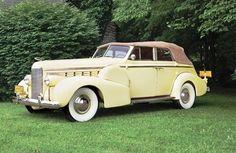 1938 LaSalle 50 Convertible Sedan - (LaSalle brand by General Motors Cadillac division, Detroit, Michigan (1927-1940)