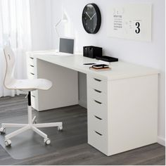 Buy Study Vanity Table Set LINNMON + ALEX - 1 x 5cm stain in an ALEX drawer  Anna Wolff on carousell singapore pasir ris dr 6 $240