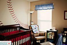 baseball nursery   Aiden's Baseball Nursery