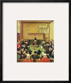 Court of Wards and Liveries, Presided over by the Master of the Court, Lord Burghley (1520-98),… Giclee Print - at AllPosters.com.au  41x41cm print - $42 - larger sizes avialable - or as canvas print (I prefer framed though).