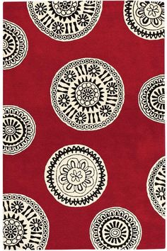 Home Decorators' Collection: Palo Rug (Item # 01661)-red/white or blue/white