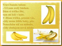 Poems, Banana, Fruit, Vegetables, Food, Poetry, Veggies, Essen, Bananas