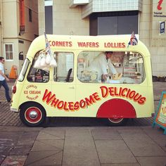 Old school ice cream from 1954