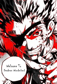 Deadman wonderland To This Day Crow is still my favorite character