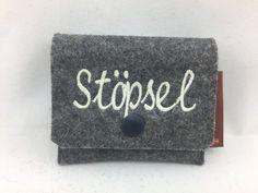 Weiteres - Tampontäschchen aus Wollfilz - Stöpsel - ein Designerstück von Hermers-Design bei DaWanda