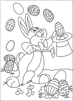 The Cute Adorable Easter Bunny Is One Of Most Enduring Symbols Associated With Festival Find 15 Free Printable Coloring Pages