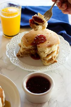 12 glorious ways to eat chocolate for breakfast pancakes syrup peanut butter and jelly pancakes are two favorite breakfast foods in one they are fluffy brunch recipesbreakfast recipeseasy ccuart Images