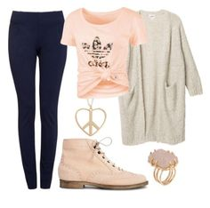 Cute teen outfit! Would use different shoes, though... Absolutely love everything else!