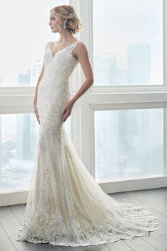 Wedding gown by Christina Wu Brides.