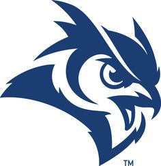 Rice Owls Secondary Logo on Chris Creamer's Sports Logos Page - SportsLogos. A virtual museum of sports logos, uniforms and historical items. Mascot Design, Logo Design, Graphic Design, Buho Logo, Husky Logo, Logo Luxury, Owl Vector, Owl Logo, Eagle Logo