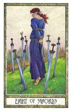druidcraft tarot eight of swords - Pesquisa Google