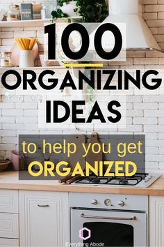 Here are over 100 organizing ideas that will surely help you get tidy! Declutter Your Home, Organize Your Life, Organizing Your Home, Kitchen Organization Pantry, Home Organization Hacks, Organizing Ideas, Household Organization, Business Organization, Organising