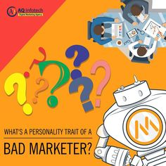 a personality trait of a bad marketer? What's a personality trait of a bad marketer? Social Media Marketing Companies, Marketing Data, Digital Marketing, Social Advertising, Promotion Strategy, Keyword Ranking, Competitive Analysis, Social Media Calendar, Delhi Ncr