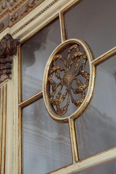 beautiful French window detail