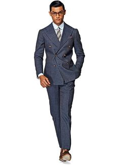 Suitsupply Suits: Soft-shoulders, great construction with a slim fit—our tailored, washed and formal suits are ideal for any situation. Mens Fashion Wear, Suit Fashion, Men Wear, Blazer Fashion, Male Fashion, Fashion Art, Mode Stage, Mode Bcbg, Suit Supply