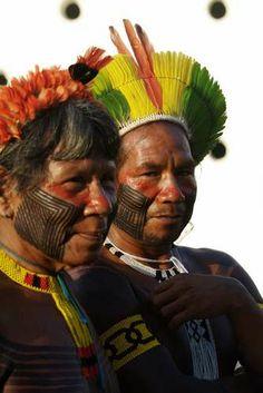 vc repórter: índios participam da Kari-Oca no Rio de Janeiro - Terra Brasil