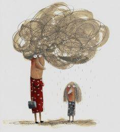 Lo que las madres tienen en la cabeza.