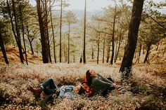 This Couple Went Exploring in the Woods for their Engagement Shoot Engagement Shoots, Wedding Blog, Philippines, Exploring, Woods, Concept, Adventure, Couples, Nature
