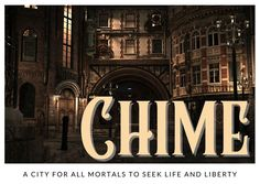 A banner image depicting the city of Chime from The Cruel Gods. Banner Images, Broadway Shows, Sky, Life, Heaven, Heavens