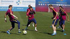 """manu ❤ NJR Recife - PE ❤✌ on Instagram: """"24.04.16 Treino !! #Neymar #Neymarjr #Fcbarcelona ❤⚽"""""""