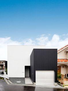 ハコ・ハコ・ハコ・間取り(大阪府箕面市)   注文住宅なら建築設計事務所 フリーダムアーキテクツデザイン