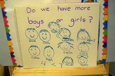 Growing in Pre-K - graphing ideas