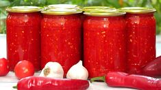 Cream Sauce Recipes, Hot Sauce Bottles, Pickles, Salsa, Mason Jars, Pizza, Canning, Preserve, Russian Cuisine