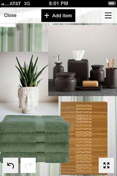 Zen bathroom Polyvore