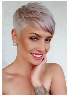 Stylish Short Haircuts, Short Pixie Haircuts, Cute Hairstyles For Short Hair, Pixie Hairstyles, Haircut Short, Stylish Hairstyles, Blonde Hairstyles, Short Hair Cuts For Women Pixie, Best Pixie Cuts