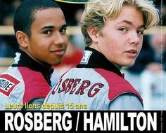 Lewis Hamilton and Nico Rosberg were the best of frenemies back in 2000 at the same karting squad, Team MBM.com – MBM standing for Mercedes-Benz-McLaren, who were watching the two promising youngsters. Hamilton claimed the European crown that year, winning five out of the eight races. #LewisHamilton #TeamLH #LH44 #NicoRosberg