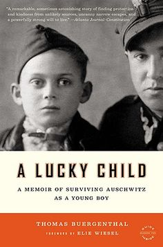 The Holocaust through an innocent child's eyes.  If you don't like reading I recommend watching the The Boy in the Striped Pajamas.