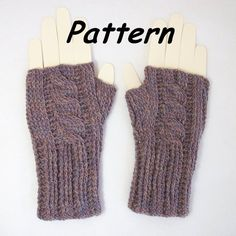 Instant Download to PDF CROCHET Pattern Ribbed Cabled by R0SEDEW, $3.49