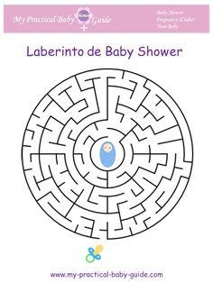 Laberinto de Baby Shower