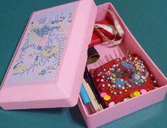 シンプルな昭和レトロな裁縫箱です。 | ときめき探しの旅へ・・・