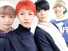 Chenle, Renjun, Jeno and Jisung